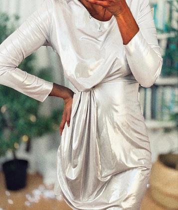 Silver Knot Dress