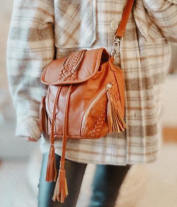Boho Fringes Faux Leather Bag