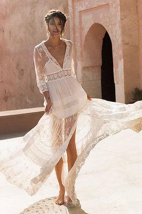 Evangelis White Maxi Dress