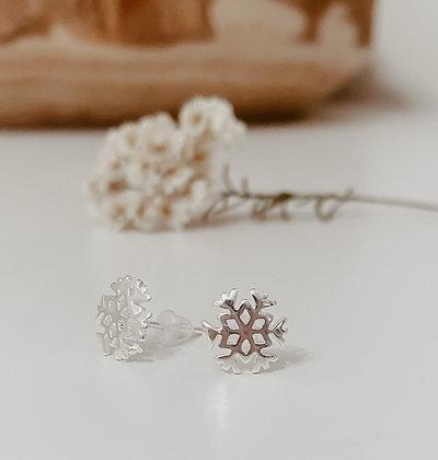 Snow 925 Sterling Silver Earrings