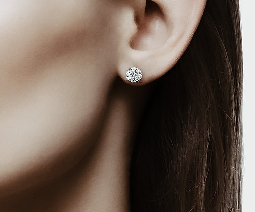 Crystal Minimal Earrings
