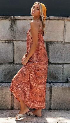 Terrakota Maxi Dress