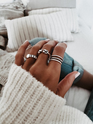Love Layer 925 Silver Ring