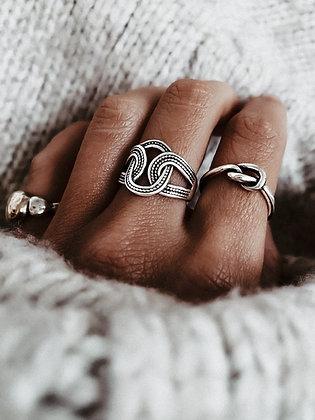 Enigma 925 Silver Ring