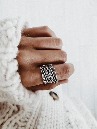 Tropical 925 Silver Ring
