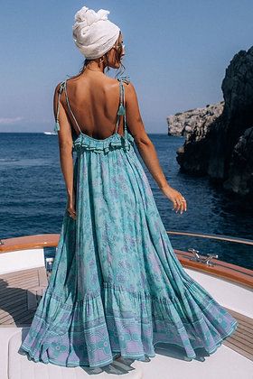 Sea Blue Magic Dress