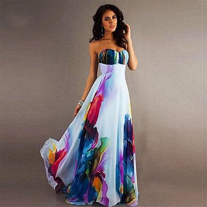 Maxi Aquarella Dress