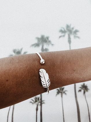 Leaf 925 Sterling Silver Bracelet