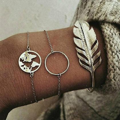 Palm Leaf Bracelets