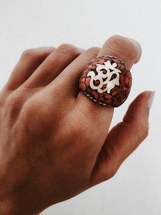 Omm Burgundy Ring