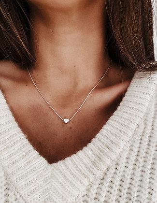 Tiny Heart 925 Silver Necklace