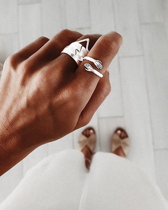 Loving Hand 925 Sterling Silver Ring
