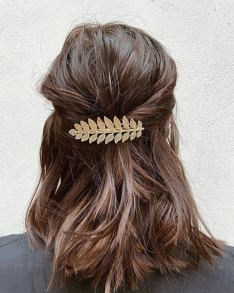 Golden Leaf Hair Band