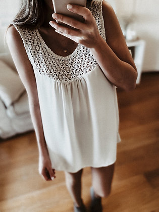 Pearl Crochet Tunic