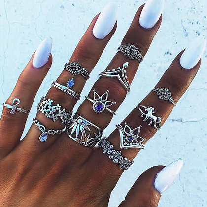 Indie Rings Set
