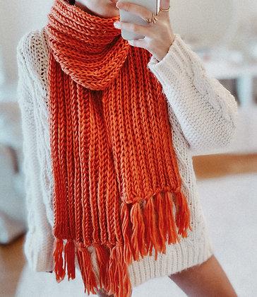 Long Wool Scarf