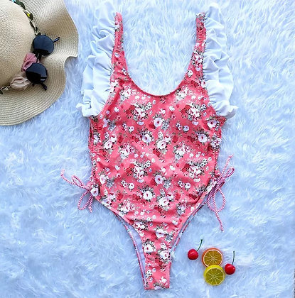 Spring Coral Swimsuit