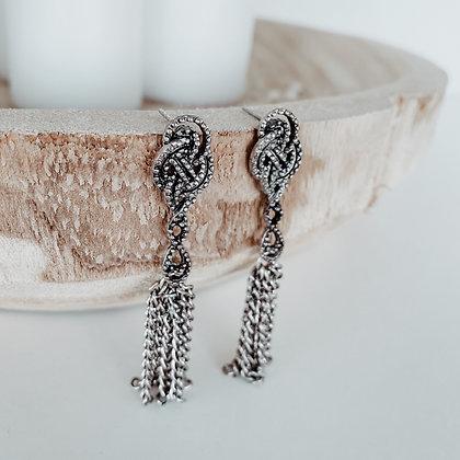 Vintage Silvered Earrings