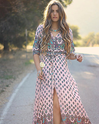 Coral Dreamer Dress