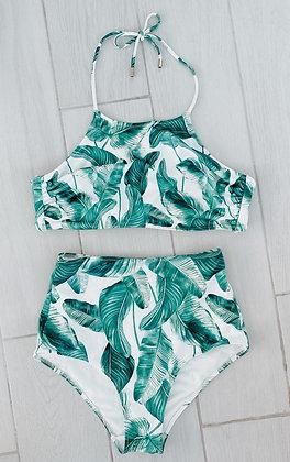 Palm Tree Halter Bikini