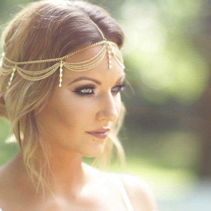 Grecian Head Necklace