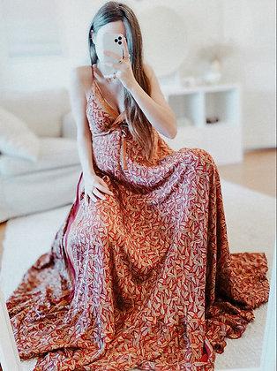 Indian Goddess Silk Dress