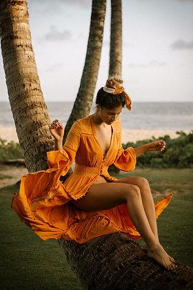 Ocean Secret Kimono Dress