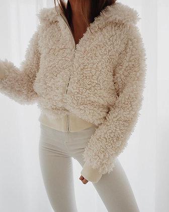 Snow White Fur Jacket