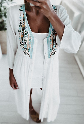 Mykonos Maxi Kimono Dress