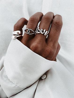 Love 925 Sterling Silver Ring