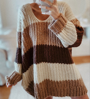 Earth Colours Sweater Dress