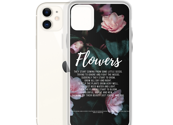 """Flowers"" iPhone Case"