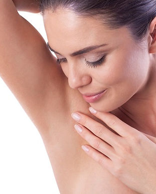 woman_showing_smooth_underarm_armpit_867