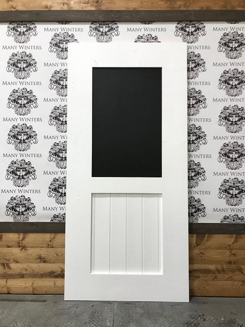 Chalk Board Door w/ Mid Bar