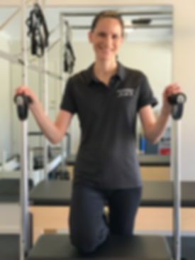 Physiotherapist and Pilates Instructor Kath McCubbin