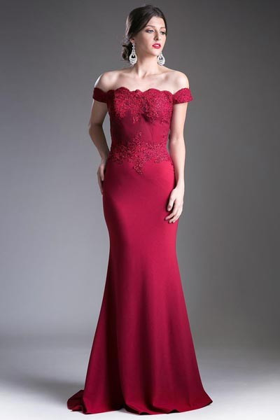 Top Lace Formal Evening Dress