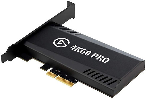 Elgato 4K60 Pro MK.2 PCIe Capture Card 4K60 HDR10 capture zero-lag passthrough u