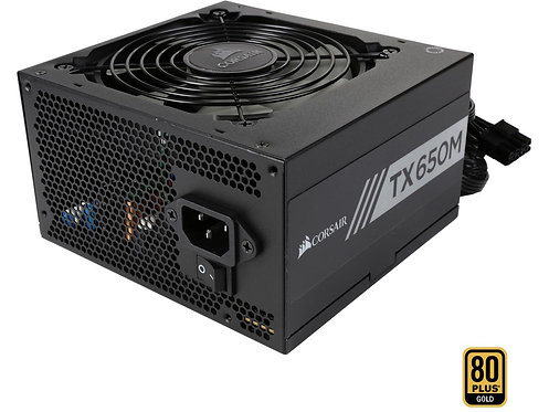 CORSAIR TX650M 650W 80 PLUS GOLD Semi-Modular
