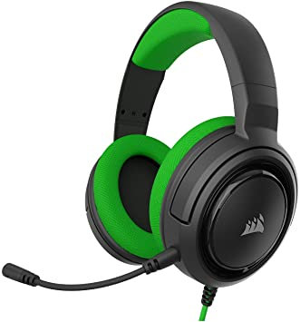 Corsair HS35 Wire Green Stereo Gaming Headset PC, PS4/ PS5 , Xbox One / Series X