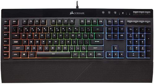 Corsair K55 RGB Gaming  Keyboard IP42 Dust and Water  Resistance 6 Programmable