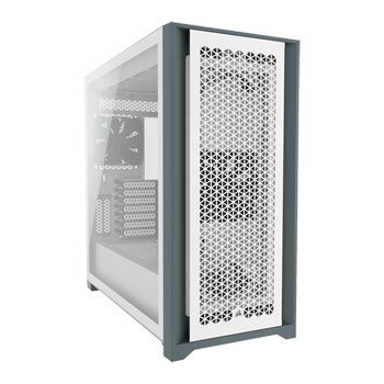 Corsair 5000D Airflow Tempered Glass Mid-Tower ATX NEW Series Case, WHITE