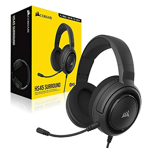Corsair HS45 Wire Carbon 7.1 Virtual Surround Sound Gaming Headset w/USB DAC Wor