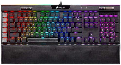 Corsair K95 RGB PLATINUM Mechanical Gaming Keyboard CHERRY® MX Speed —  Black CH