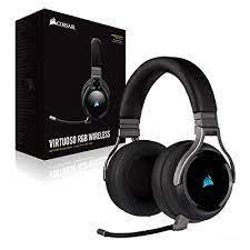 Corsair Virtuoso RGB Wireless 7.1 Surround Sound Gaming Headset w/Broadcast Qual