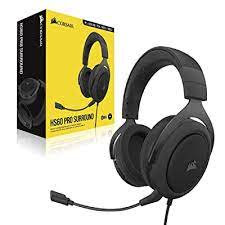 Corsair HS60 PRO Wire Carbon 7.1 Virtual Surround Sound Gaming Headset with USB