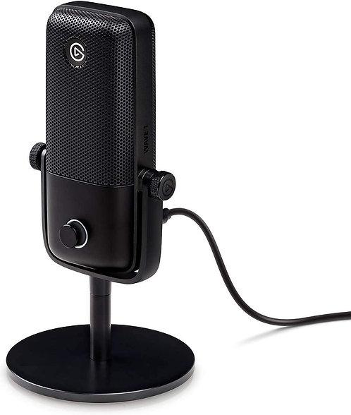 Elgato Wave:1 Premium USB Condenser Microphone Digital Mixing Solution Anti-Clip
