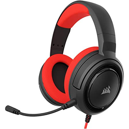 Corsair HS35 Wire RED Stereo Gaming Headset PC, PS4/ PS5 , Xbox One / Series XS,