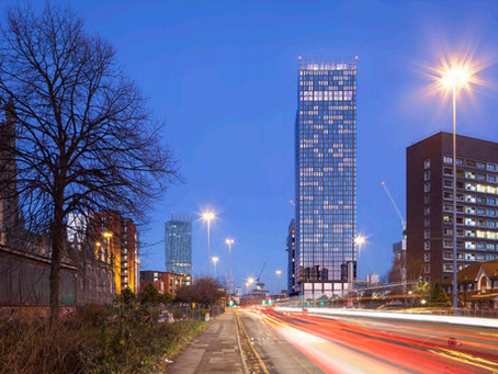 Manchester hits 'peak' construction