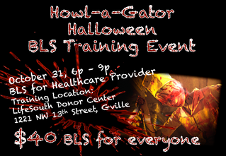 Howl-a-Gator BLS Event: $40 CPR