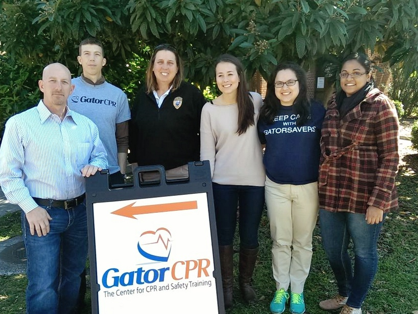 Uf Staffsavers Another Huge Success Cpr Training Gainesville